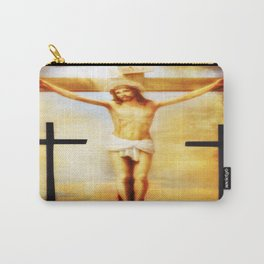 on the cross Carry-All Pouch