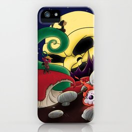 Under Hell's Light iPhone Case