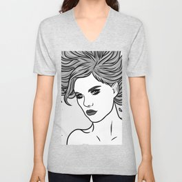 fire elf Unisex V-Neck