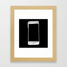iPhone 5 Wolfram Rule 126 Part 2 Framed Art Print