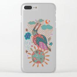 Rare Bird Clear iPhone Case