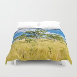 Savannah landscape Duvet Cover