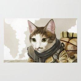Rider Cat Rug