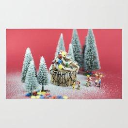 Christmas cupcake Rug