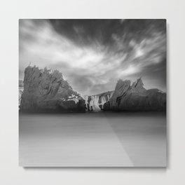 Monochrome Days Metal Print