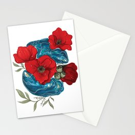 Remembrance Oysters Stationery Cards
