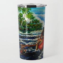 Paddling Home Travel Mug
