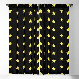The Stars Pattern Blackout Curtain