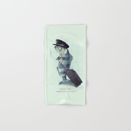 The Pilot (colour option) Hand & Bath Towel