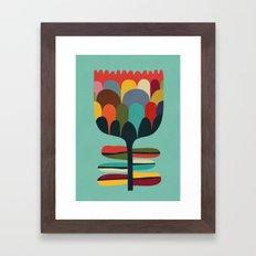 Flower Poet Framed Art Print
