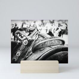 Get Back In The Saddle Mini Art Print