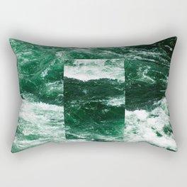 Constant River Rectangular Pillow