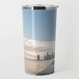 One December in Chicago Travel Mug