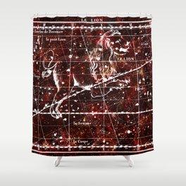 Zodiac Signs - Leo, the Lion Shower Curtain