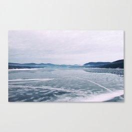 Ice Lake Canvas Print