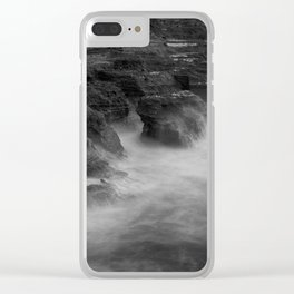 Muriwai NZ Clear iPhone Case