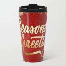 Holiday Greetings 7 Travel Mug