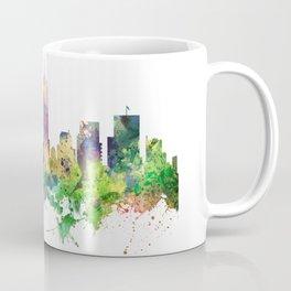 Indiana, Indianapolis Skyline SP Coffee Mug