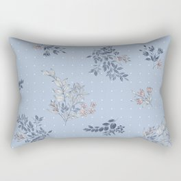 Polka and tropical Rectangular Pillow