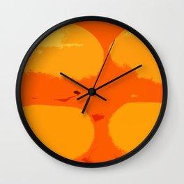 Ping-Pong Wall Clock