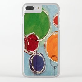 Talus Floats Clear iPhone Case