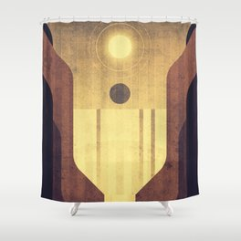 Earth - Victoria Falls Shower Curtain