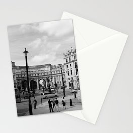 PICCADILLY CIRCUS B&W Stationery Cards