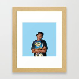 Felicia Bits | Rappers and Cereal Framed Art Print
