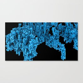 Cellular Automata 02 Canvas Print