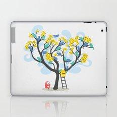 Crazy cat lady needs help Laptop & iPad Skin