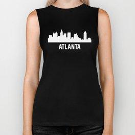 Atlanta Georgia Skyline Cityscape Biker Tank