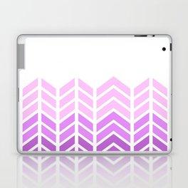 OMBRE LACE CHEVRON 2 Laptop & iPad Skin