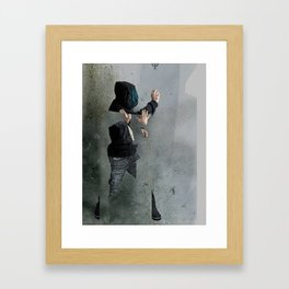 String Theory: Collapsing Wavefunction, Second Tangible Framed Art Print