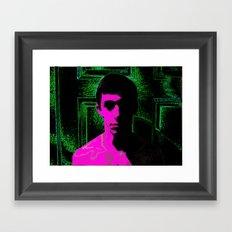 Pinkie Framed Art Print