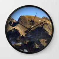 spiritual Wall Clocks featuring Spiritual Healing by Jérémy Boes