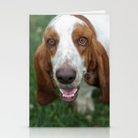 the hound Stationery Cards featuring Hound by RaviusKiedn