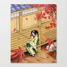 Kenshin's family Canvas Print