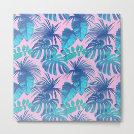 tropical pink Metal Print
