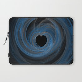 Valentine's Fractal VI - Dark Laptop Sleeve