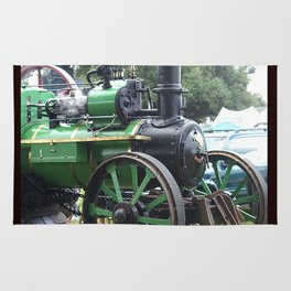 Steam Power 2 - Tractor Rug