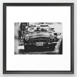 MG Framed Art Print