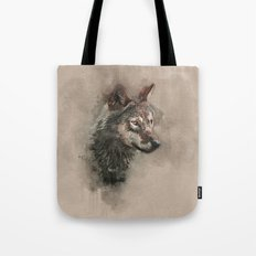 European Wolf Tote Bag