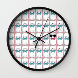Meow Different Wall Clock