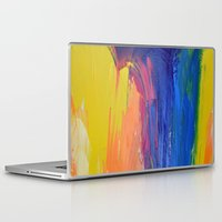 the strokes Laptop & iPad Skins featuring Strokes by Tony Vazquez