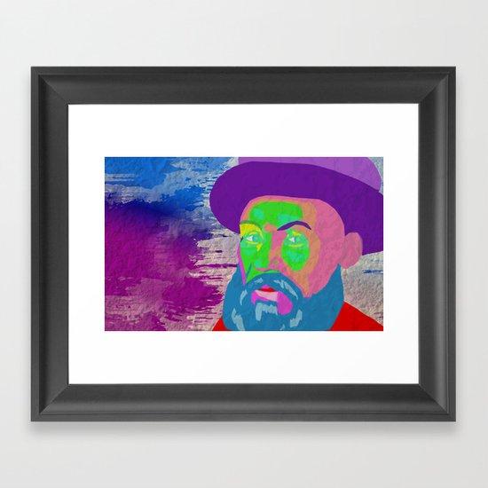 """Swing Lo Magellan"" by Cap Blackard Framed Art Print"