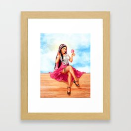 La Michoacana Framed Art Print