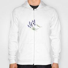Lavender flowers Hoody