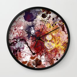 splats Wall Clock