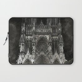 Cathedral Black Laptop Sleeve