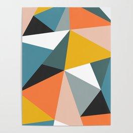 Modern Geometric 36 Poster